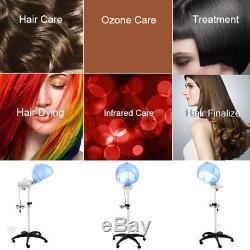 2 Heat Level Hair Hood Steamer Processor Conditioner Salon Moisture Spa Machine