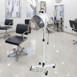 2PCS Salon Hair Dryer Hood Floor Stand Professional Hairdresser Hairdryer