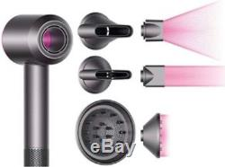 BRAND NEW with BOX Dyson Supersonic Hairdryer-2 Nozzles, Diffuser and Cooling Mat