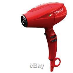 BaByliss Pro BaBylissPro Nano Titanium Volare V2 Mid-Size Dryer Red BABFRV2