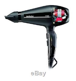 BaByliss Pro Silence Professional Hair Dryer Ionic Ultra-fast Drying Genuine NEW