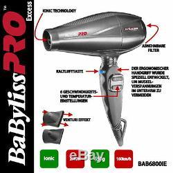 Babyliss PRO Haartrockner BAB6800IE EXCESS 2600W
