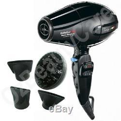 Babyliss PRO Torino Ionic & Nano Titanium 6100 Hair Dryer 2200WithBabylissPRO