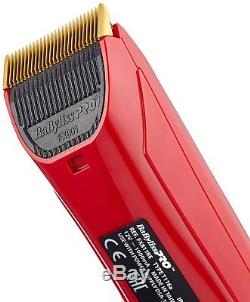 Babyliss PRO Volare X2 FX811RE Hair Clipper Ferrari Designed Engine lithium poly