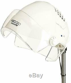 Babyliss Pro DB2000 Hard Hat Ionic Hood Dryer BHHIN Aux Music Player Rolling