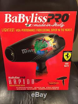 Babyliss Pro Rapido Ferrari Designed Engine Blow Dry