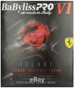 Babyliss Pro V1 Volare Professional Luxury Ferrari Volare Hair Dryer BLACK