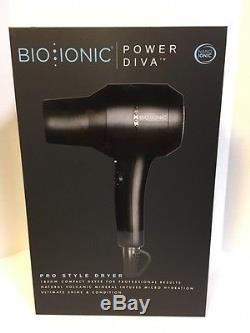 Bio Ionic Pro Style Luxe Power Diva Compact Dryer 1800 Watt