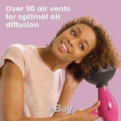 Black Orchid Large Hair Diffuser Enhance Define Curls Wave Max Volume 3D Airfl