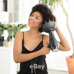 Black Orchid Large Hair Diffuser Enhance Define Curls Wave Max Volume 3D Airflow