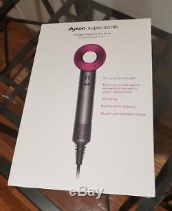 Brand NEW in original sealed package- DYSON Fuchsia Supersonic Hair Dryer