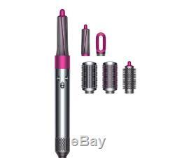 Brand New Dyson Airwrap Volume+Shape Styler for fine, flat hair- Fuchsia, Nickel