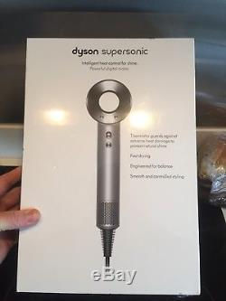 Brand New & Sealed Dyson Supersonic Hairdryer Silver/White