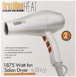 Brazilian Heat BBH3203 Brazilian Heat Ceramic Ionic Hair Dryer, 1875 Watt