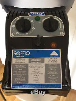 CERIOTTI SOFFIO Standard Professional Salon/Floor Standing Mobile Hair Steamer