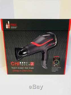 CHI FAROUK TOUCH SCREEN 2 LOW EMF PROFESSIONAL HAIR DRYER NEW 2nd GENERATION