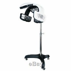 Climazone Fully Digital Ready-Set Functions Individual Fan Hair Dryer With Timer