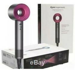 DYSON Supersonic Hair Dryer Iron & Fuchsia Brand New- PINK-Generation 3
