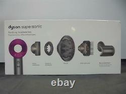 DYSON Supersonic Hair Dryer Iron & Fuchsia DAMAGED BOX Currys