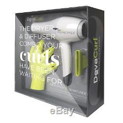Devacurl Devadryer Hair Dryer & Deva Fuser Diffuser Combo Free Shipping