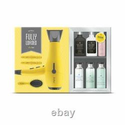 Drybar Buttercup Blow Dryer Fully Loaded Minibar 9 Piece Holiday Gift Set NEW