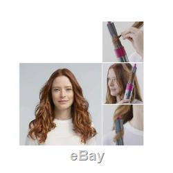 Dyson Airwrap Volume Shape Styler For Fine Flat Hair Fuchsia Nickel