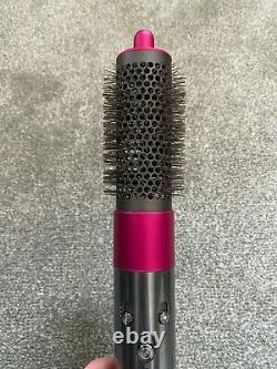 Dyson Airwrap with attachments iron/fuschia plus EXTRA volumising brush