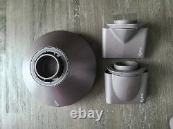 Dyson Hd01 Fuschia Body/Grey Face Hair Dryer With Attachments