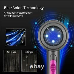 Dyson Style Lightweight Negative Ionic Hair Blow Dryer, Fast Drying & Hair Care