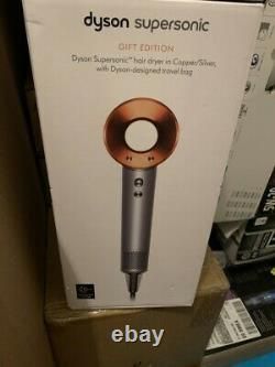 Dyson Supersonic 1600W Hair Dryer With Accessories Gift Edition Copper/Silve New