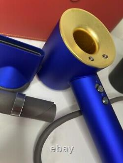 Dyson Supersonic 1600W Hair Dryer with 23.75K Gold in Case