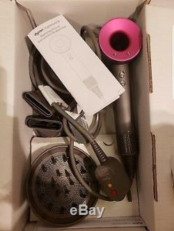 Dyson Supersonic Fuchsia Hair Dryer