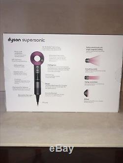 Dyson Supersonic Fuchsia Hair Dryer HD01 Brand New