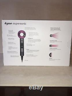 Dyson Supersonic Fuchsia Hair Dryer HD01 Brand New