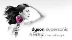 Dyson Supersonic Fuchsia Hair Dryer Hd01 (120V/60Hz/1600W)