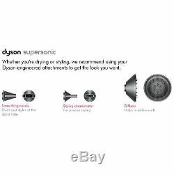 Dyson Supersonic Fuchsia Hair Dryer Uk Plug
