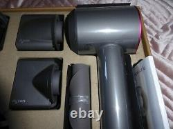 Dyson Supersonic HD03 Hairdryer original Box Fuscia All Attatchments included