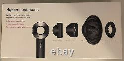 Dyson Supersonic HD03 UK Hair Dryer Black/Nickel In Mint Condition. Barely Used