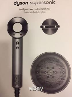 Dyson Supersonic Haartrockner Professional Edition Nickel/Silber OVP