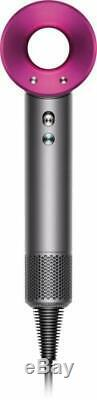 Dyson Supersonic Hair Dryer And Diffuser Iron Fuchsia