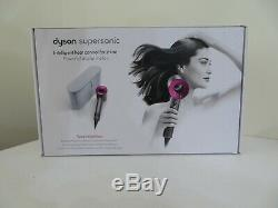 Dyson Supersonic Hair Dryer & Attachments Fuchsia/platinum New Special Edition