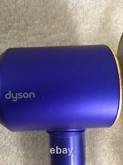Dyson Supersonic Hair Dryer Blue/Gold-HD01 (Without Attachments)