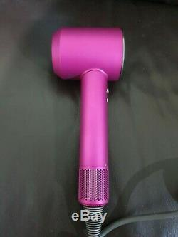 Dyson Supersonic Hair Dryer Fuchsia Limited Edition With Accessories