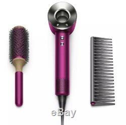 Dyson Supersonic Hair Dryer Fuchsia & Nickel Limited Edition With Accessories