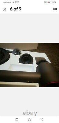 Dyson Supersonic Hair Dryer Graphite/Orchid in box used 3 times