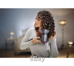 Dyson Supersonic Hair Dryer Iron & Fuchsia Brand New Sealed For Xmas Gift