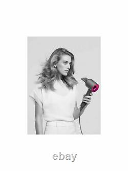 Dyson Supersonic Hair Dryer Iron Fuchsia Pink Free P&P UK Seller