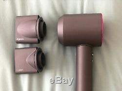Dyson Supersonic Hair Dryer Iron/Fuchsia With Accessories
