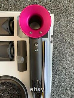 Dyson Supersonic Hair Dryer Iron & Fuschia