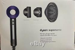 Dyson Supersonic Hair Dryer Nickel/Purple 309698-01